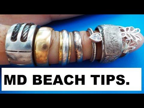Beach detecting 2017 gold platinum tips secrets