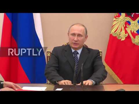 Russia: Putin holds meeting on air strike that could have killed IS leader in Raqqa