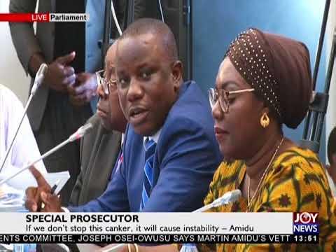 Special Prosecutor - The Pulse on JoyNews (13-2-18)