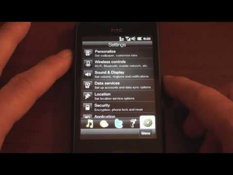 HTC HD Mini Sense UI Walkthrough