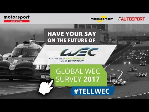 Have your say in the WEC Fan Survey