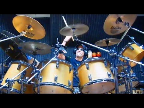 """Gino Vannelli - """"Appaloosa"""" Drum Cover By Alan Badia - Drummer's Version"""