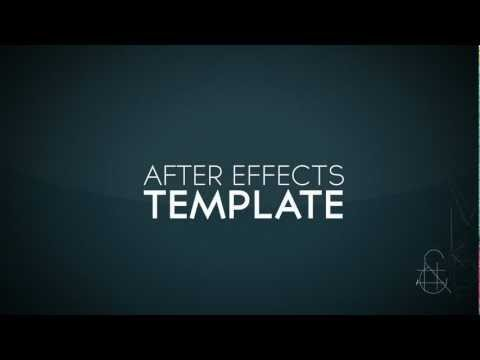 Free after effects intro template 1 for After effects cs4 intro templates free download
