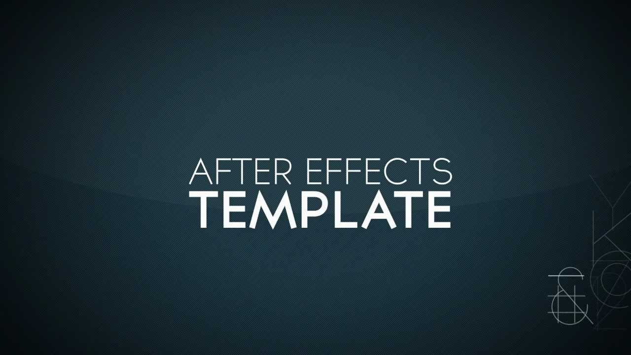 Free after effects intro template 1 for After effects templates intros