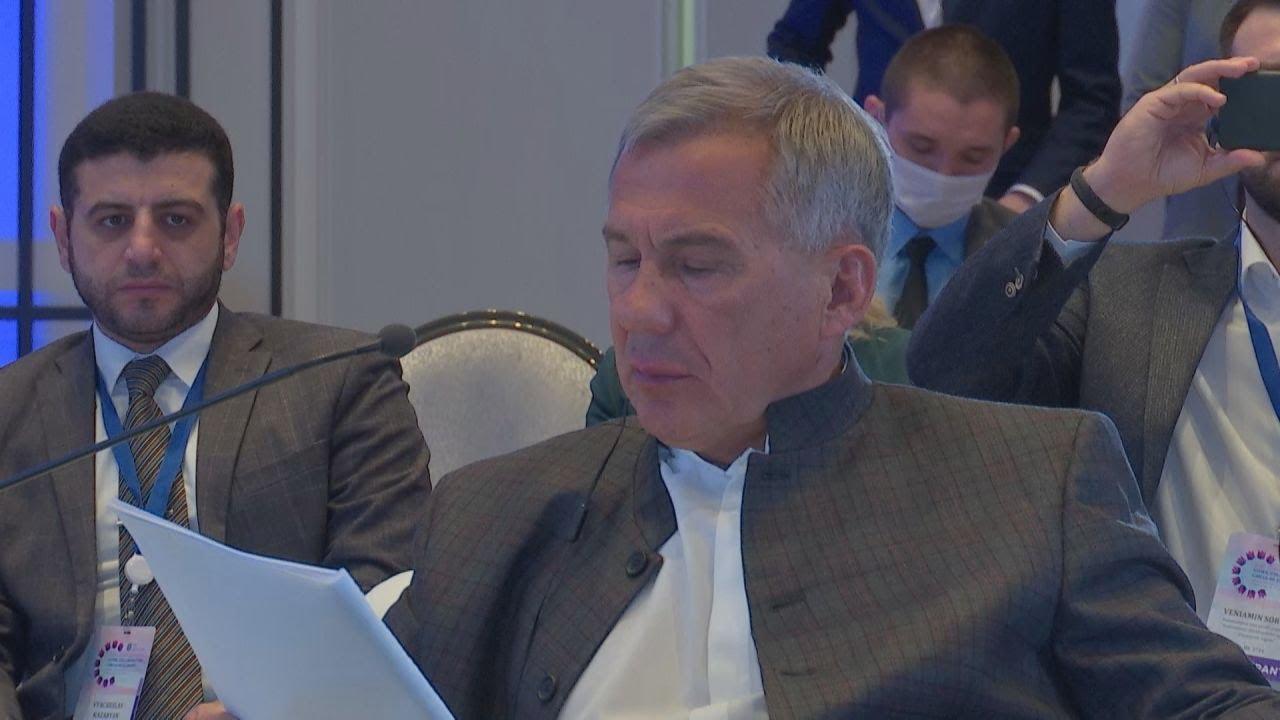 Президент Татарстана Рустам Минниханов принял участие в работе 24-й Глобальной конференции TCI