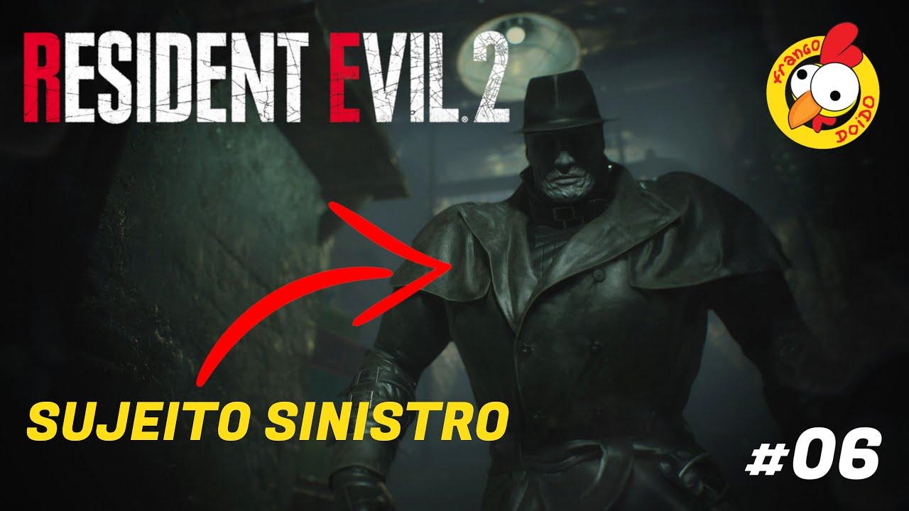 RESIDENT EVIL 2 (REMAKE) Monstrão Gigante - #06 Gameplay Pt-Br - Frango Doido