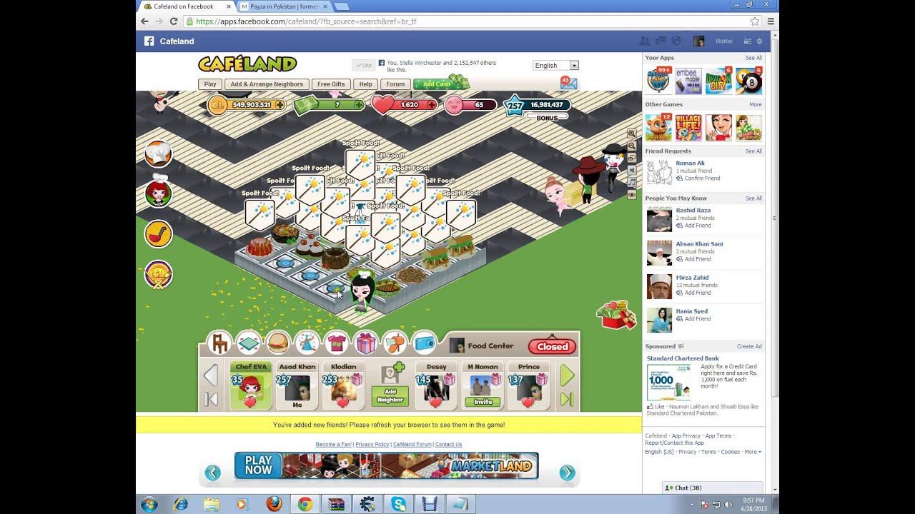 Cafeland Hack Level Up With Cheat Engine 6.2 - YouTube