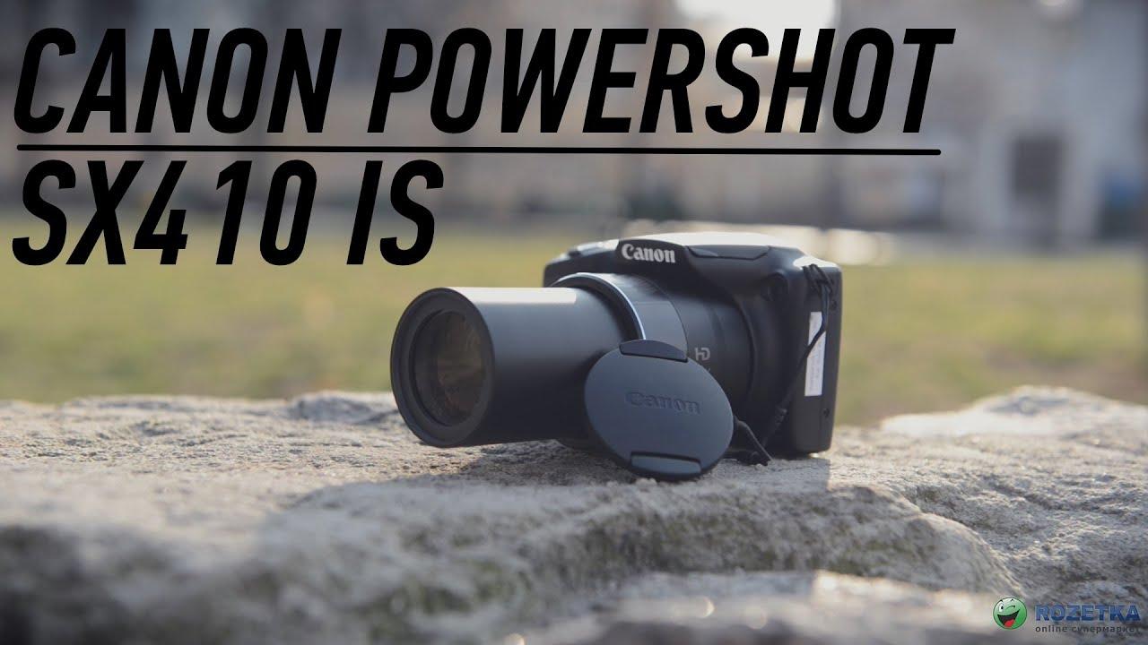 Canon PowerShot SX400 16 MP Digital Camera - YouTube