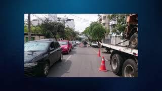 SETRANS realiza mudança de trânsito na Avenida Parana