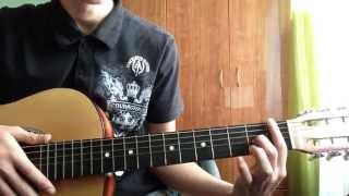 """Любовь и Dota 2"" видеоурок на гитаре (аккорды, бой)"