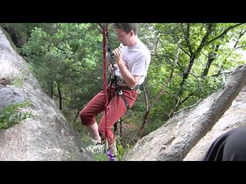 Rappelling Accident Removed Video