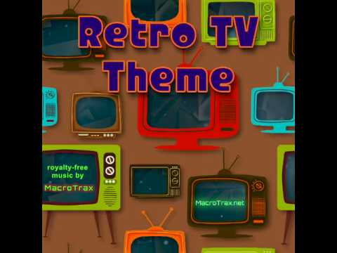 Retro TV Theme (Instagram short) MacroTrax royalty-free music