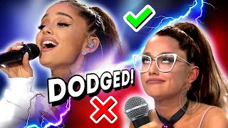 Famous Singers SINGING vs DODGING High Notes