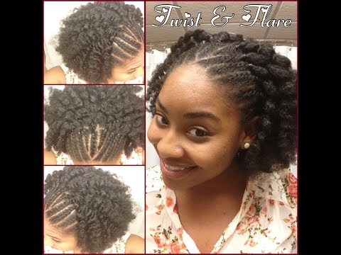 Quick Natural  Hairstyle: Twist & Flare (As Told By Her)