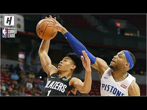 Portland Trail Blazers vs Detroit Pistons – Full Game Highlights | July 6, 2019 NBA Summer League