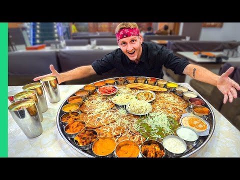RECORD BREAKING Thali in Pune, India!!! (Matt Stonie Has NO Chance)
