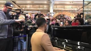 John Legend Live at St Pancras International