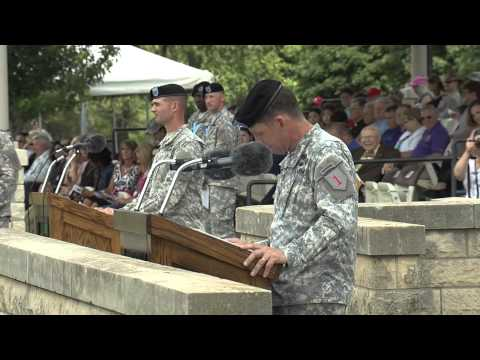 1st ABCT, 1st Inf. Div., Change of Command