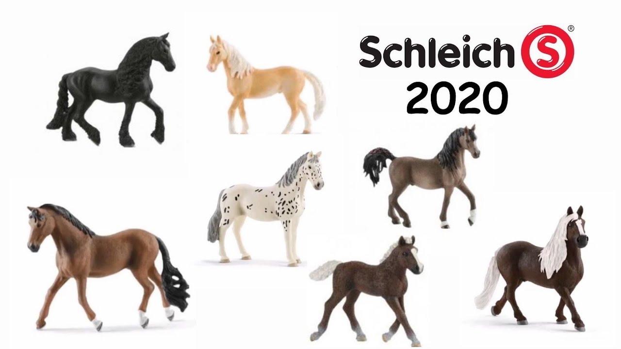 Calendrier Avent Kinder 2020.Schleich Horses 2020 Schleich Horse Club 2020