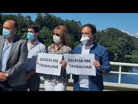 Los trabajadores transfronterizos piden normalizar el tránsito entre Galicia y Portugal