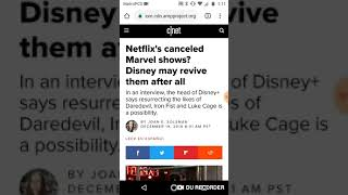 Netflix's canceled Marvel shows? Disney may revive them after all!