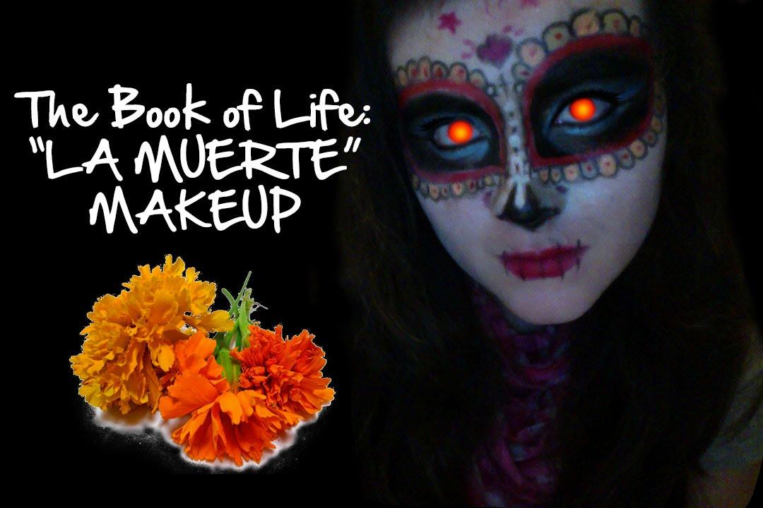 THE BOOK OF LIFE: LA MUERTE MAKEUP ♥ - YouTube