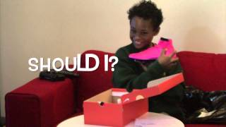 Euphoria! Reaction to Pro Direct Nike Pink Mercurial Superfly Football Boots Personalised