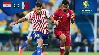 Agradable empate | Paraguay 2 - 2 Qatar | Copa América | Televisa Deportes