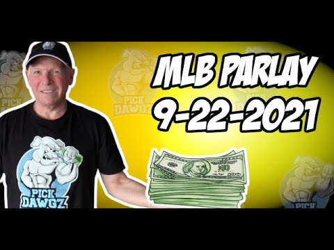 Free MLB Parlay For Today Wednesday 9/22/21 MLB Pick & Prediction MLB Betting