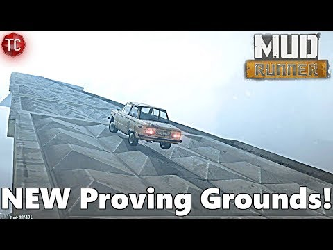 SpinTires MudRunner: NEW PROVING GROUND 2018