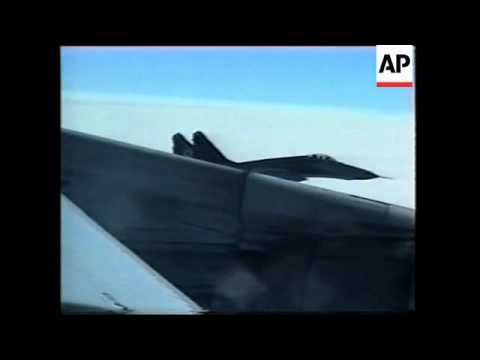 US DoD issues video of interception of spy plane by NKorean jets