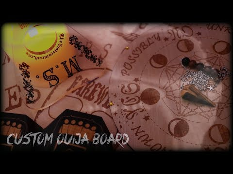 CUSTOM OUIJA BOARDS | The Sisterswood Couture | MichaelScot