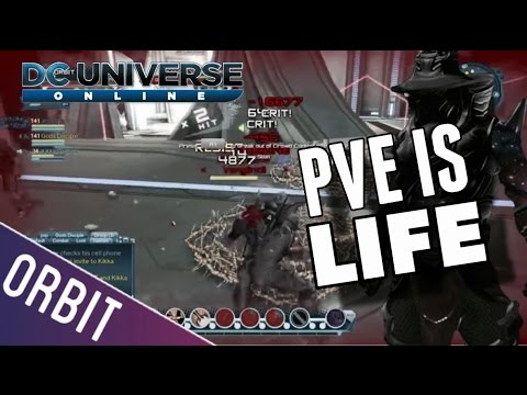 DCUO | PVP Is Completely Broken And Noone Cares PVE IS LIFE - 17,000 Damage Through A Block?