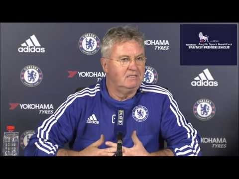 Guus HIDDINK NEW CHELSEA MANAGER press conference vs Watford