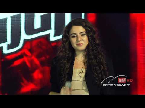 Mary Mnjoyan,Hallelujah by Jeff Buckley - The Voice Of Armenia - Blind Auditions - Season 1