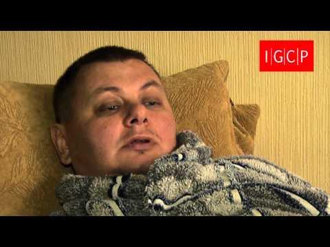 Житель Луганска, захваченный \