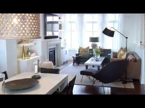 Interior Design Bright Warm Lakeside Townhouse