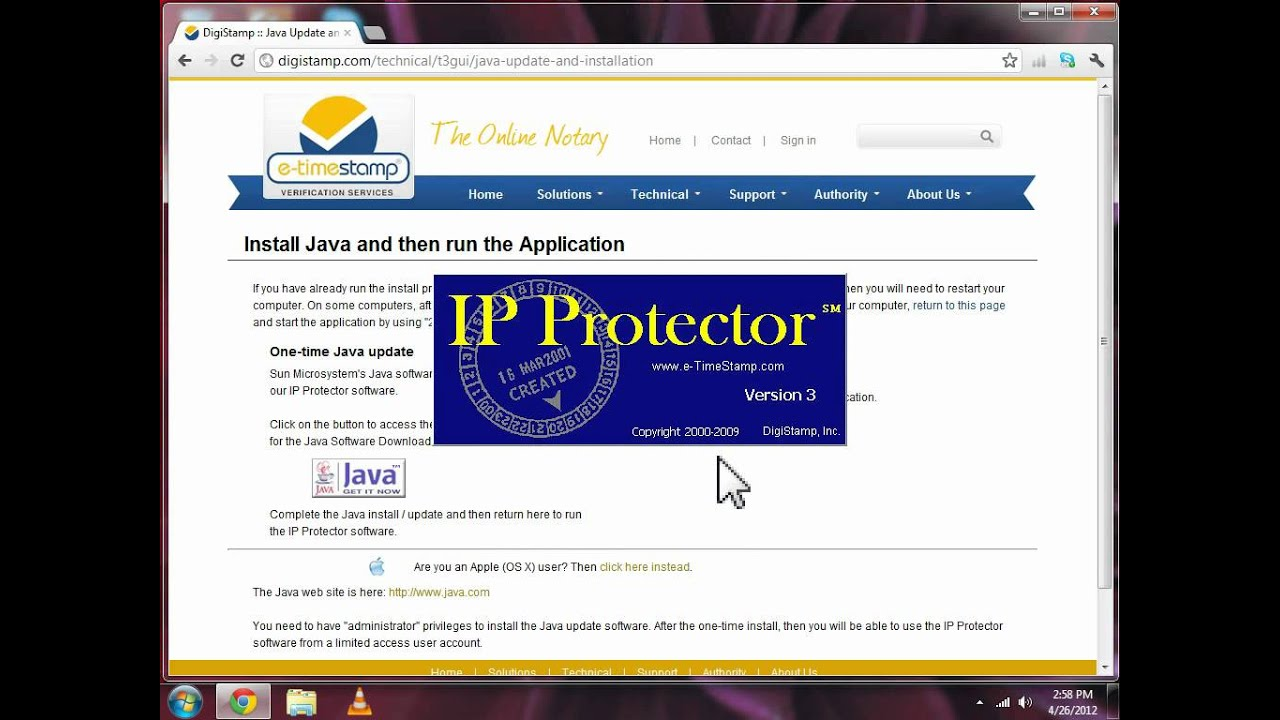 DigiStamp :: Using the IP (Intellectual Property) Protector