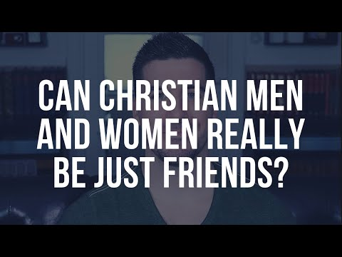 Just Friends? 3 Points To Consider For Christian Men And Women