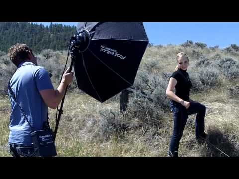 Photo Shoot with MacKenzie Carr - Pure Montana Collection