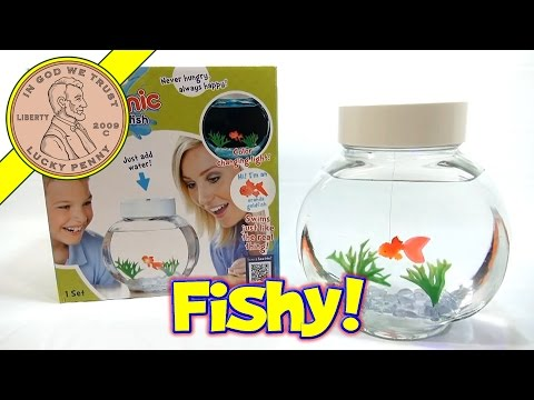 Fincredibles Electronic Pet Fish - Swims Like The Real Thing! Bonus Hex Bug Aqua-Bot Shark!