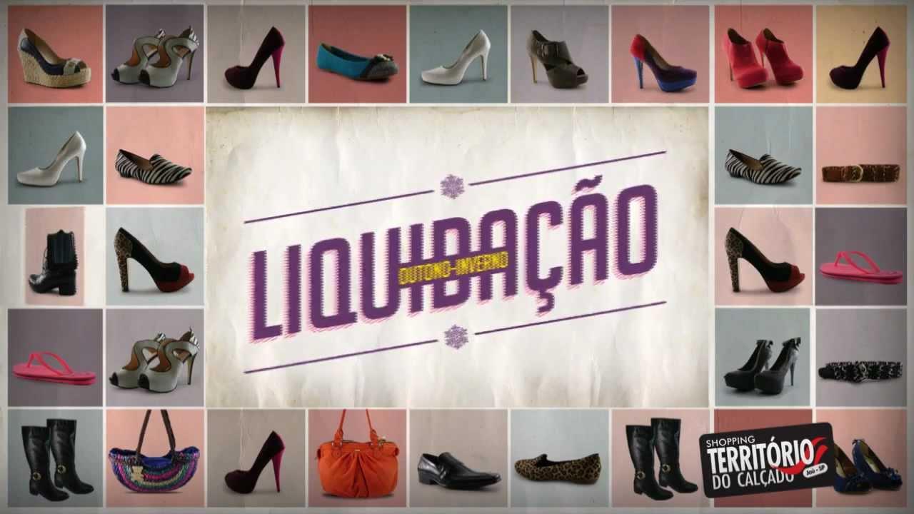 4fda4dbe6 VT Liquidação Outono Inverno Shopping Território do Calçado - YouTube