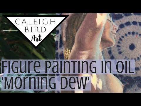 Figure Painting in Oil + Technique Tips :: Morning Dew