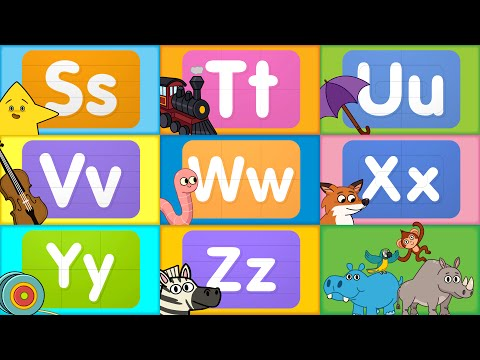 Learn the ABCs | Letters S - Z | Turn & Learn ABCs