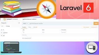 Add new environment like postman in current project laravel Compass