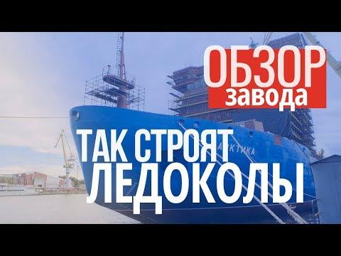 Самый БОЛЬШОЙ АТОМНЫЙ ледокол. Ледокол Арктика | Станкорепорт