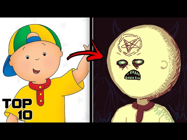 Top 10 Scary Caillou Urban Legends