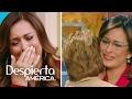 Neida Sandoval se derrumbó al recordar la visita de su madre