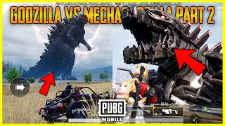 PUBG MOBILE MECHAGODZILLA FOUND | GODZILLA VS KONG MODE PART 2 + KONG IS COMING 😲🔥😍 - INSANE !!