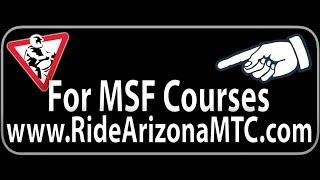 My MSF BRC1 Class This Past Weekend! WOOOOO!